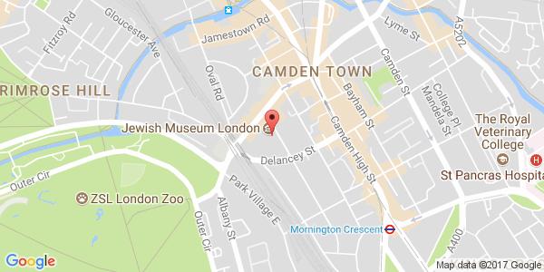 Map of Jewish Museum location