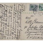 Postcard from Leon to his sister