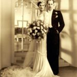 Mr and Mrs Simmons were photographed by Boris Bennett for their wedding in 1935 from the Jewish Museum London collection