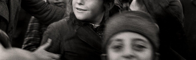 Jewish school children looking happy