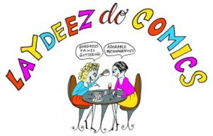 Laydeez do comics logo