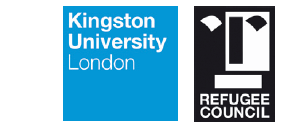 Kingston Uni, Refugee council logos