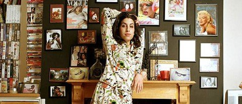 Amy Winehouse exhibition banner