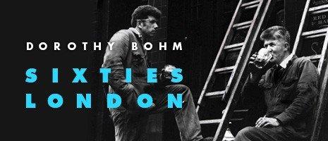Dorothy Bohm exhibition banner