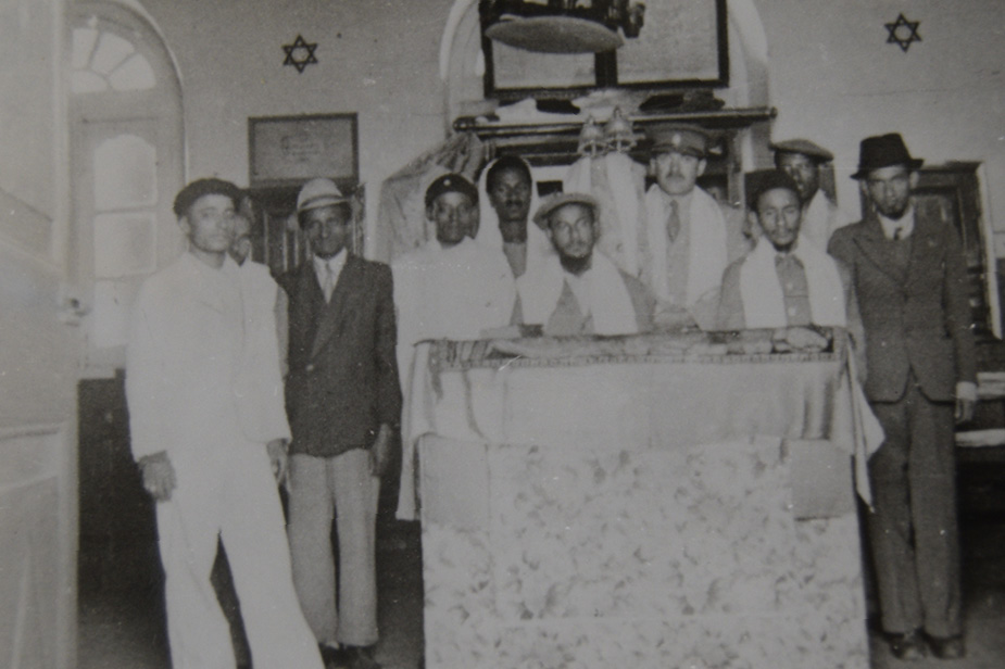 Black and white photo from the Jewish Museum London collection