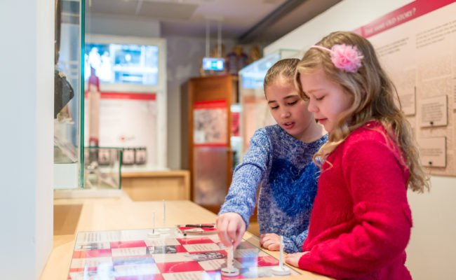 Kids in the History Gallery