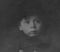 Leon Greenman as a child