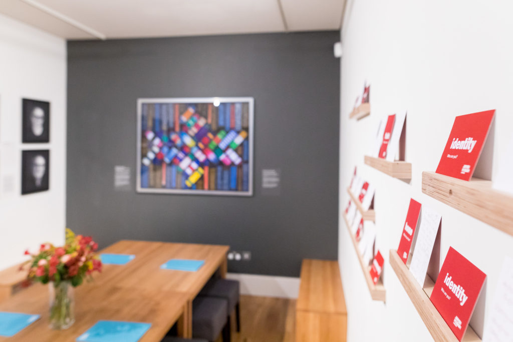Interior of Living Communities Gallery