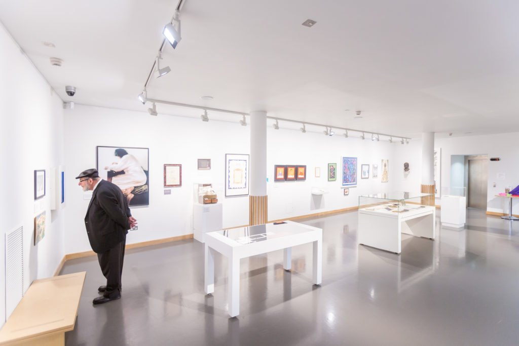 View of interior of Welcome Gallery