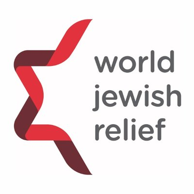 Image result for world jewish relief logo