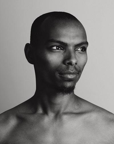 B&W Portrait of a man