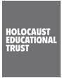 Grey and white logo