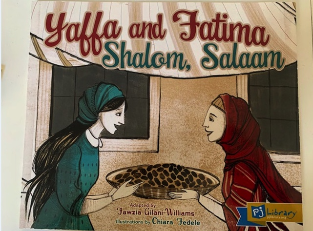 A book with two women on the front