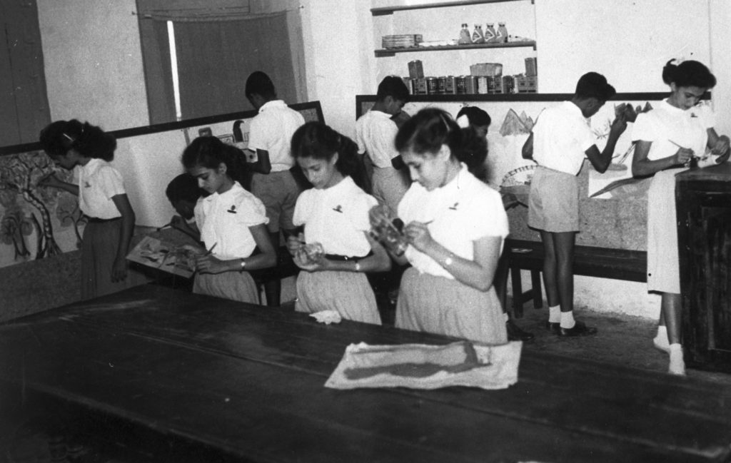 Black and white photo of Adeni Jewish Community